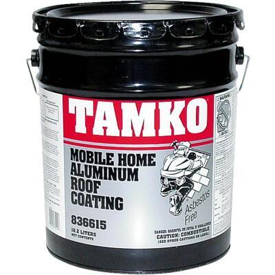 Tamko 5 Gal. Fibered Aluminum Mobile Home Roof Coating