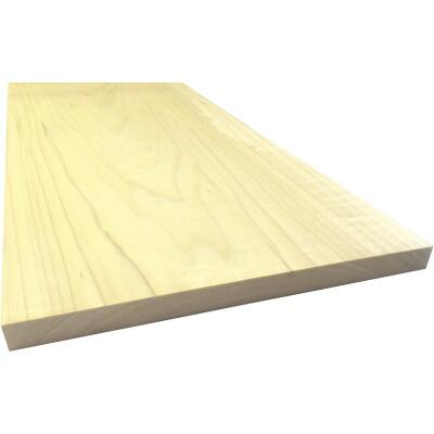 Waddell 1 In. x 12 In. x 4 Ft. Poplar Wood Board