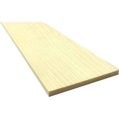 Waddell 1/4 In. x 6 In. x 4 Ft. Poplar Wood Board