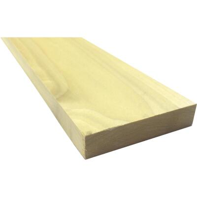 Waddell 1 In. x 4 In. x 8 Ft. Poplar Wood Board