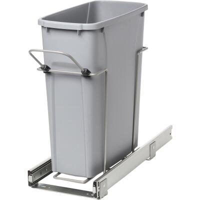 Knape & Vogt Real Solutions 20 Qt. In-Cabinet Single Pull-Out Trash Can