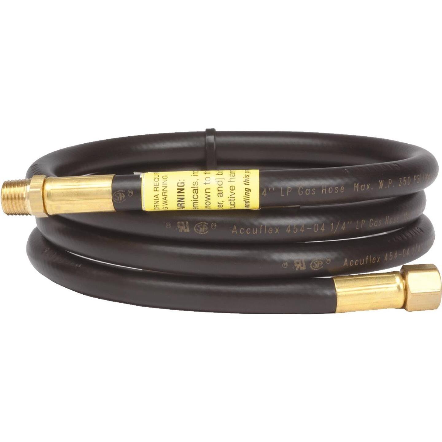 MR. HEATER 5 Ft. x 1/4 In. MPT x 1/4 In. FPT LP Hose Assembly Image 1