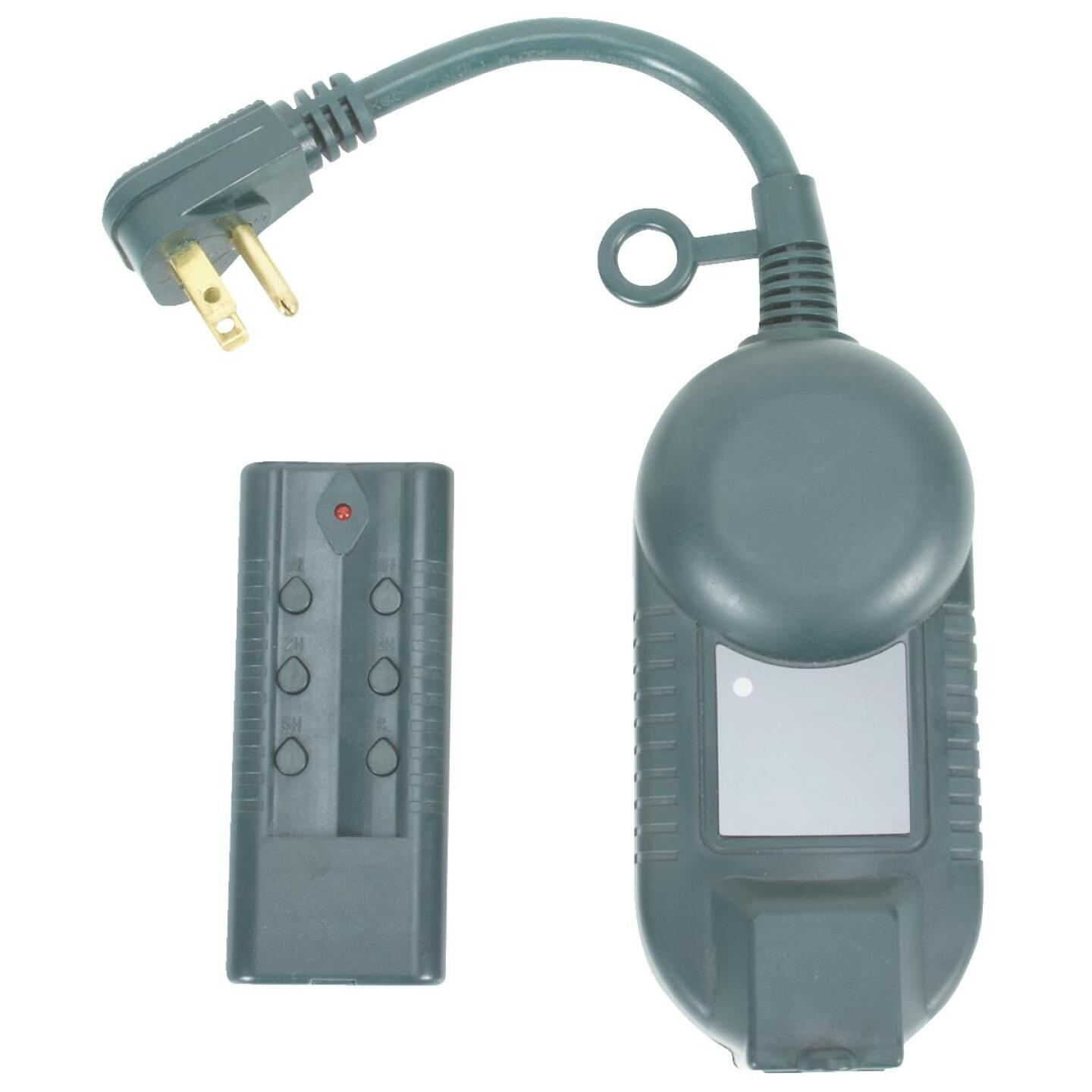 Do it 12.5A 120V 1500W Green Outdoor Timer with Remote Image 3