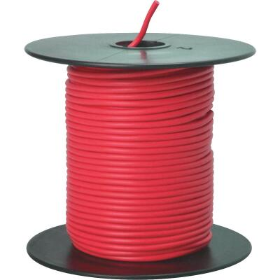 ROAD POWER 100 Ft. 18 Ga. PVC-Coated Primary Wire, Red