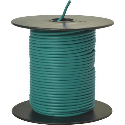 ROAD POWER 100 Ft. 18 Ga. PVC-Coated Primary Wire, Green