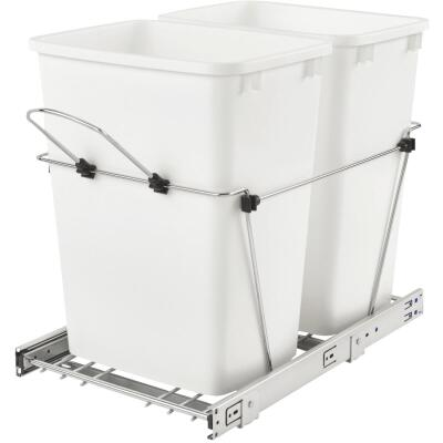 Rev-A-Shelf 35 Qt. Double Pull-Out Waste Container
