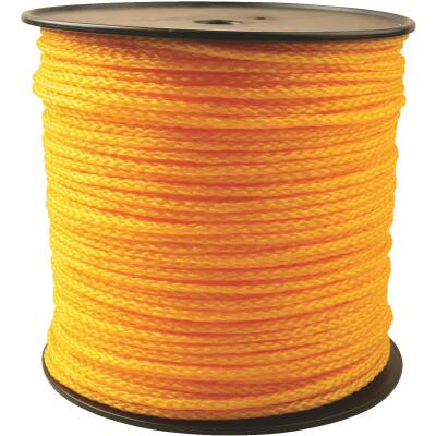 Do it 1/4 In. x 1000 Ft. Yellow Braided Polypropylene Rope
