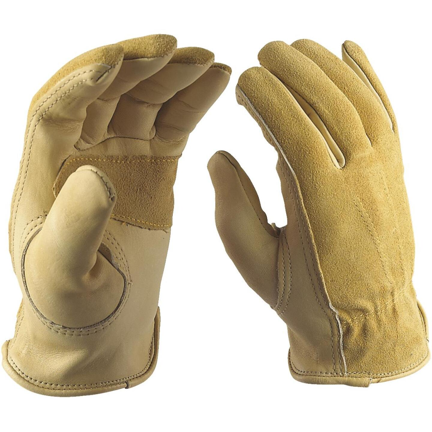 Wells Lamont Women's Medium Grain Cowhide Leather Work Glove Image 2